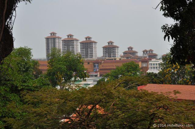 2014年3月、マレーシア・マラッカ写真旅行記 セントポールの丘からの景色