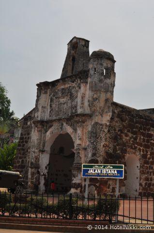 2014年3月、マレーシア・マラッカ写真旅行記 サンチャゴ砦