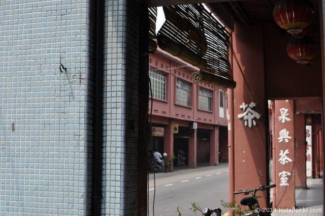 マラッカ写真旅行記2014年3月 オランダ広場からザビエル教会に向かう