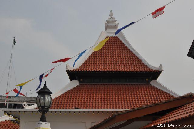 マレーシア・マラッカ、ジョンカー周辺 モスク
