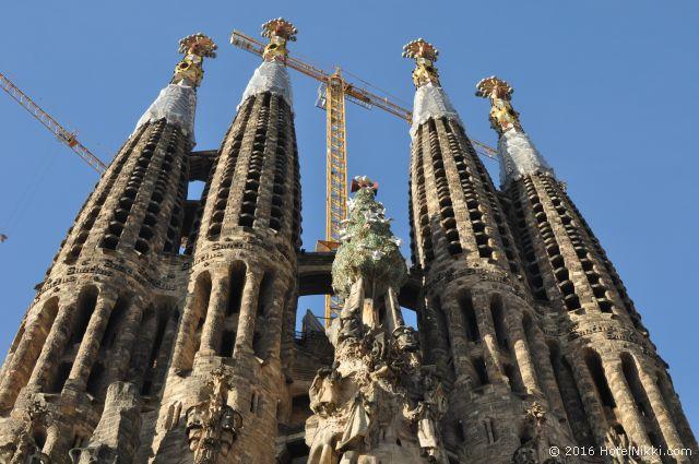 行ってみてよかった世界遺産 TOP 10 スペイン・バルセロナのサグラダファミリア教会 (2010年2月撮影)