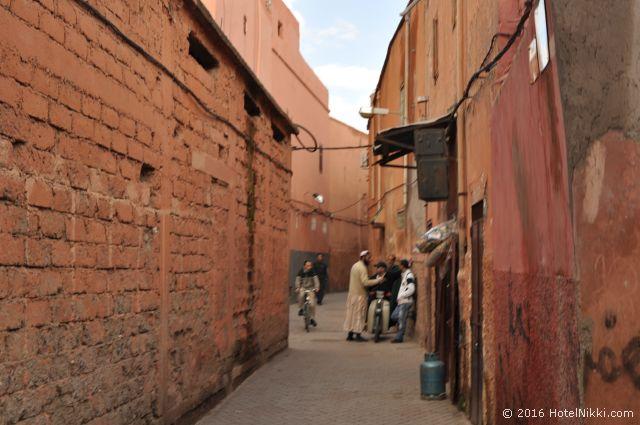 行ってみてよかった世界遺産 TOP 10 モロッコ・マラケシュの旧市街 (2010年2月撮影)