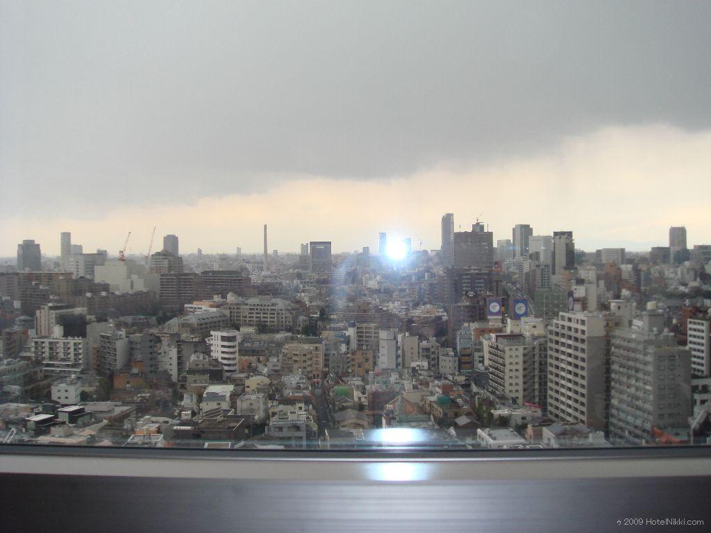 グランドハイアット東京 客室窓からの眺め