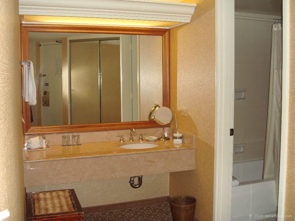 ハイアットリージェンシーワイキキビーチリゾート&スパ 洗面台
