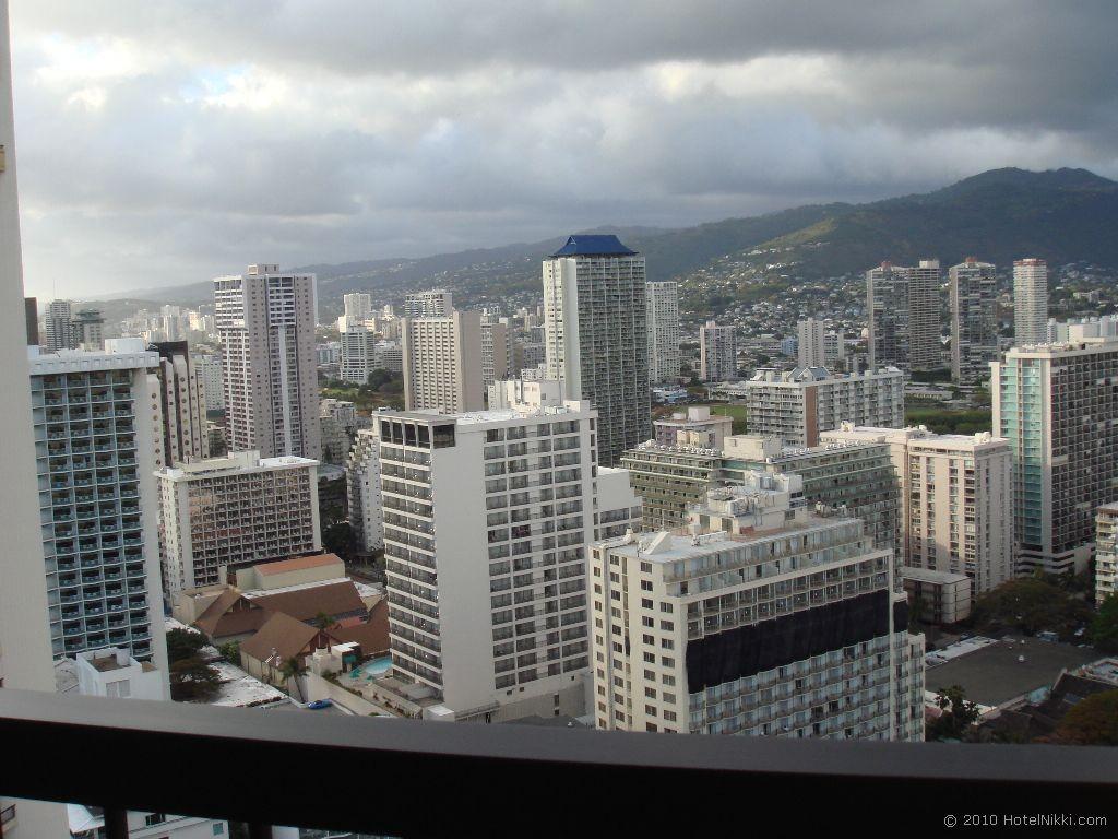 ハイアットリージェンシーワイキキビーチリゾート&スパ ラナイからの眺め