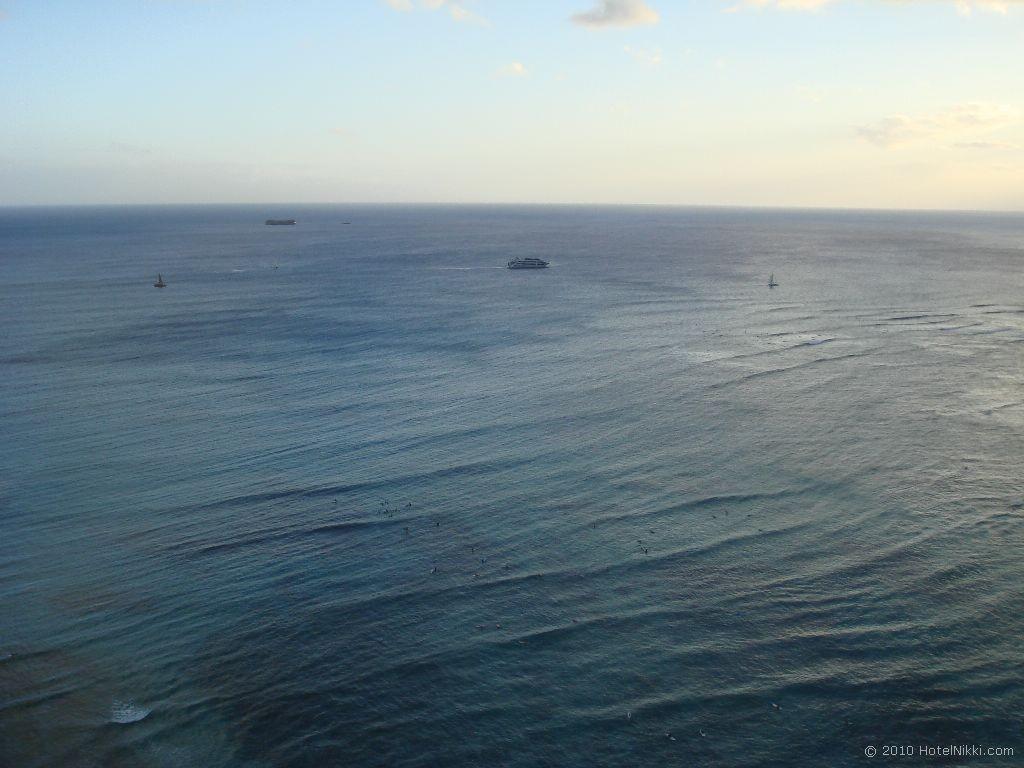 ハイアットリージェンシーワイキキビーチリゾート&スパ リージェンシークラブからの眺め