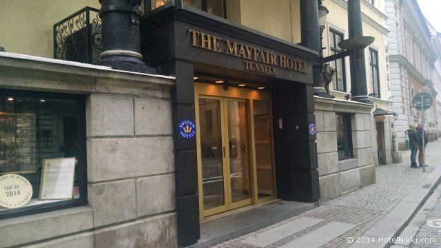 メイフェアーホテル ホテル玄関口