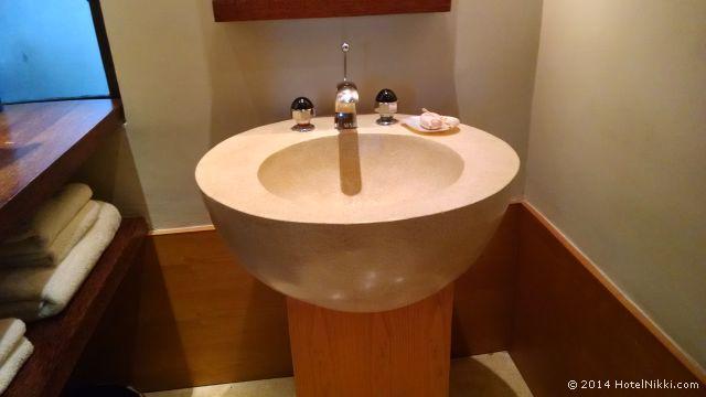 アマンジヲのバスルーム