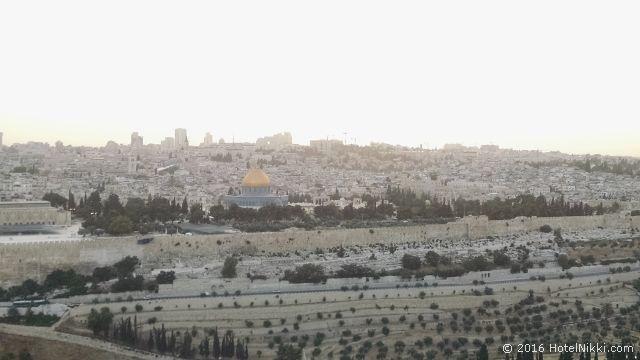 行ってみてよかった世界遺産 TOP 10 イスラエル・エルサレムのオリーブの丘 (2015年6月撮影)