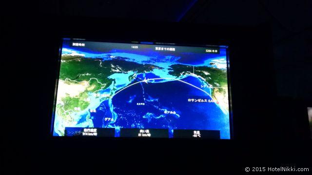 UA32 LAX-NRT ビジネスファースト、10時間のフライトもあっという間です