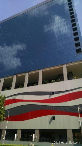 ホテルボス シンガポール、ホテルの外観