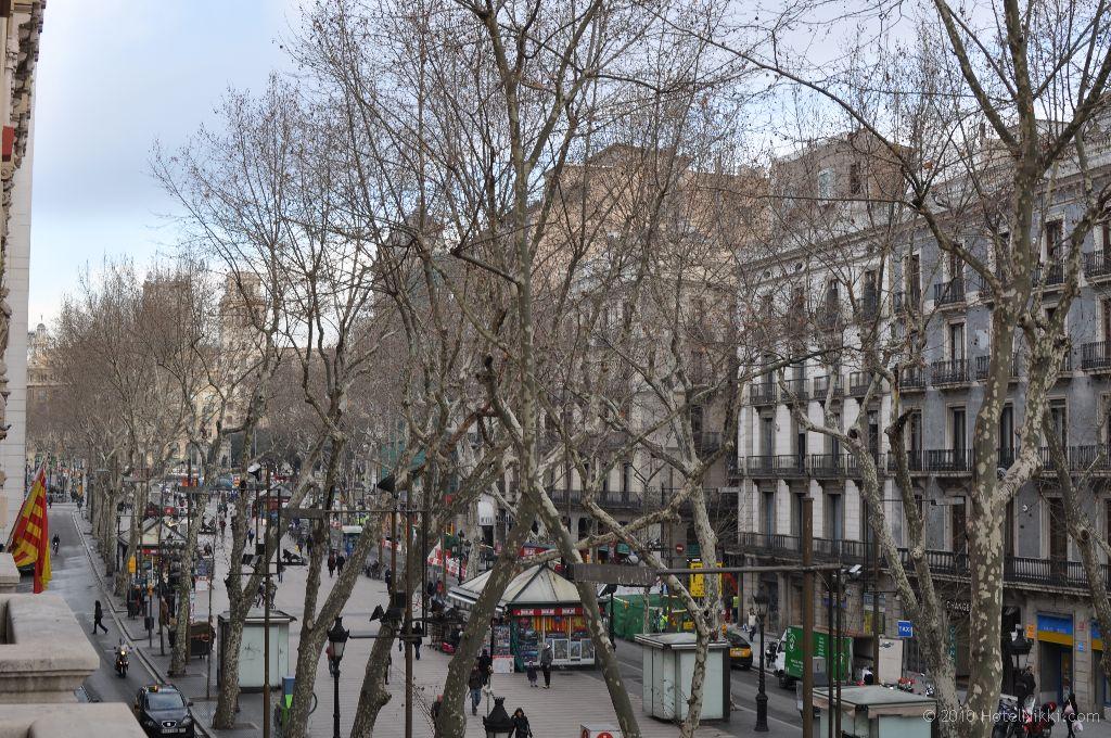 ル・メリディアン・バルセロナ 窓からの景色