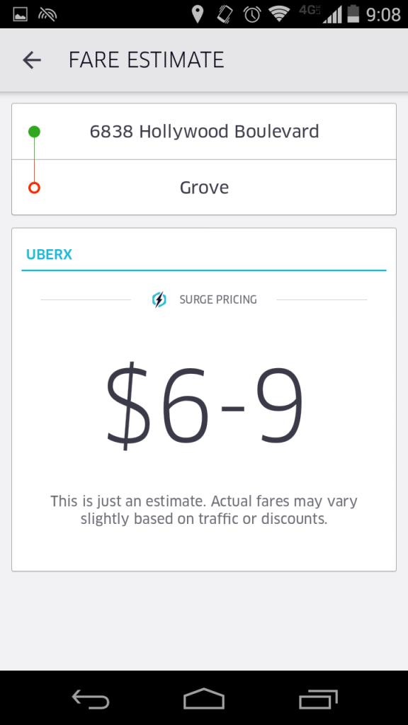 相乗りではない場合の料金。それでも超激安です!