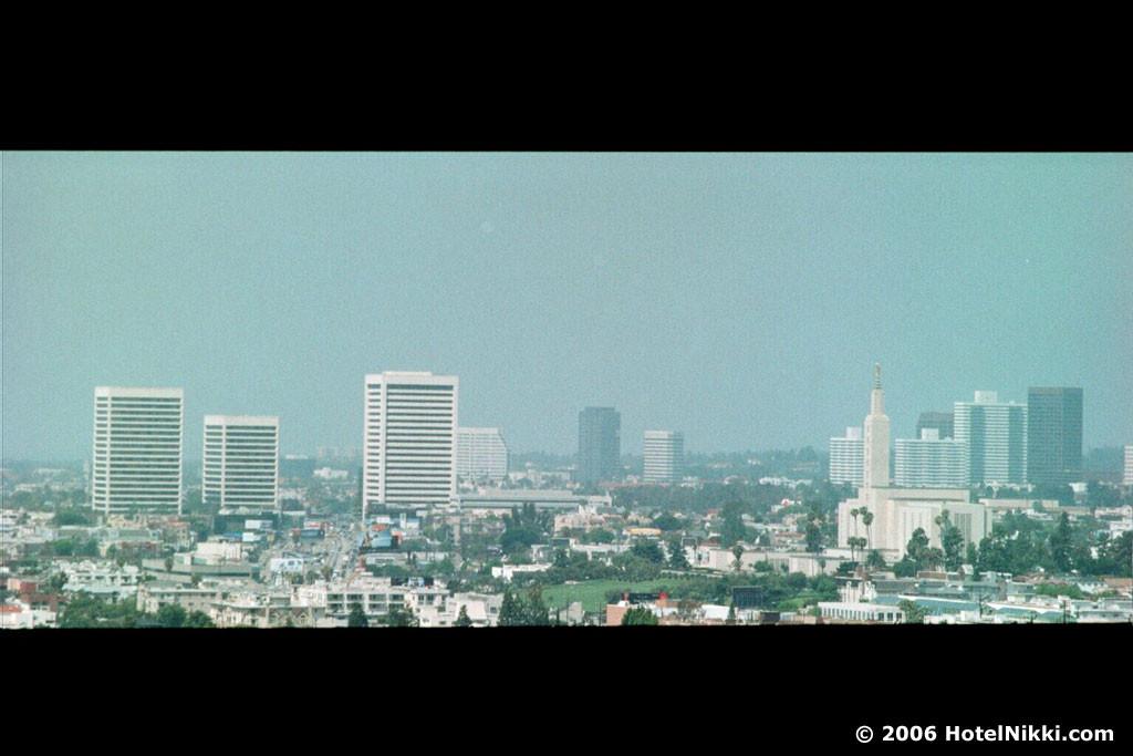 セント・レジス ロサンゼルス 窓からの眺め