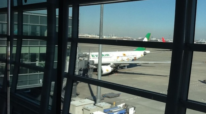 Eva Air Hello Kitty Jet (2013/12)