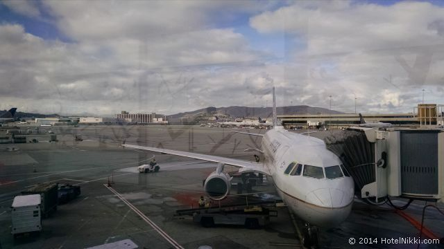 ワシントンDC・ダレス国際空港のユナイテッドクラブラウンジ