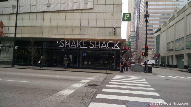 シェイクシャックに行ってきました in シカゴ